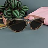Солнцезащитные очки коричневого цвета с поляризацией CD, женские, фото 7