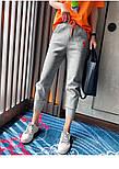 Спортивные трикотажный женские штаны на широких манжетах 7912491, фото 2
