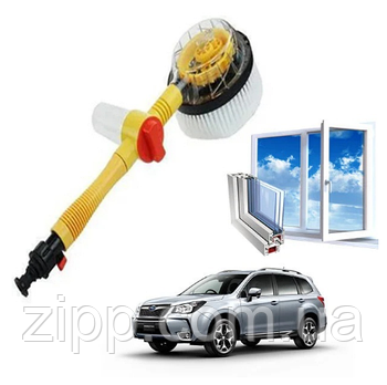 Щетка-насадка для мойки и очистки Water Blast Cleaner Roto Brush, вращающаяся