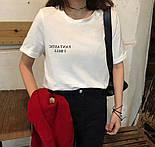 Хлопковая женская футболка с рисунком на спине 6817351, фото 3