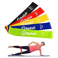 Набор резинок для фитнеса Upfull Fitline 5 штук Фитнес Резинок 3368