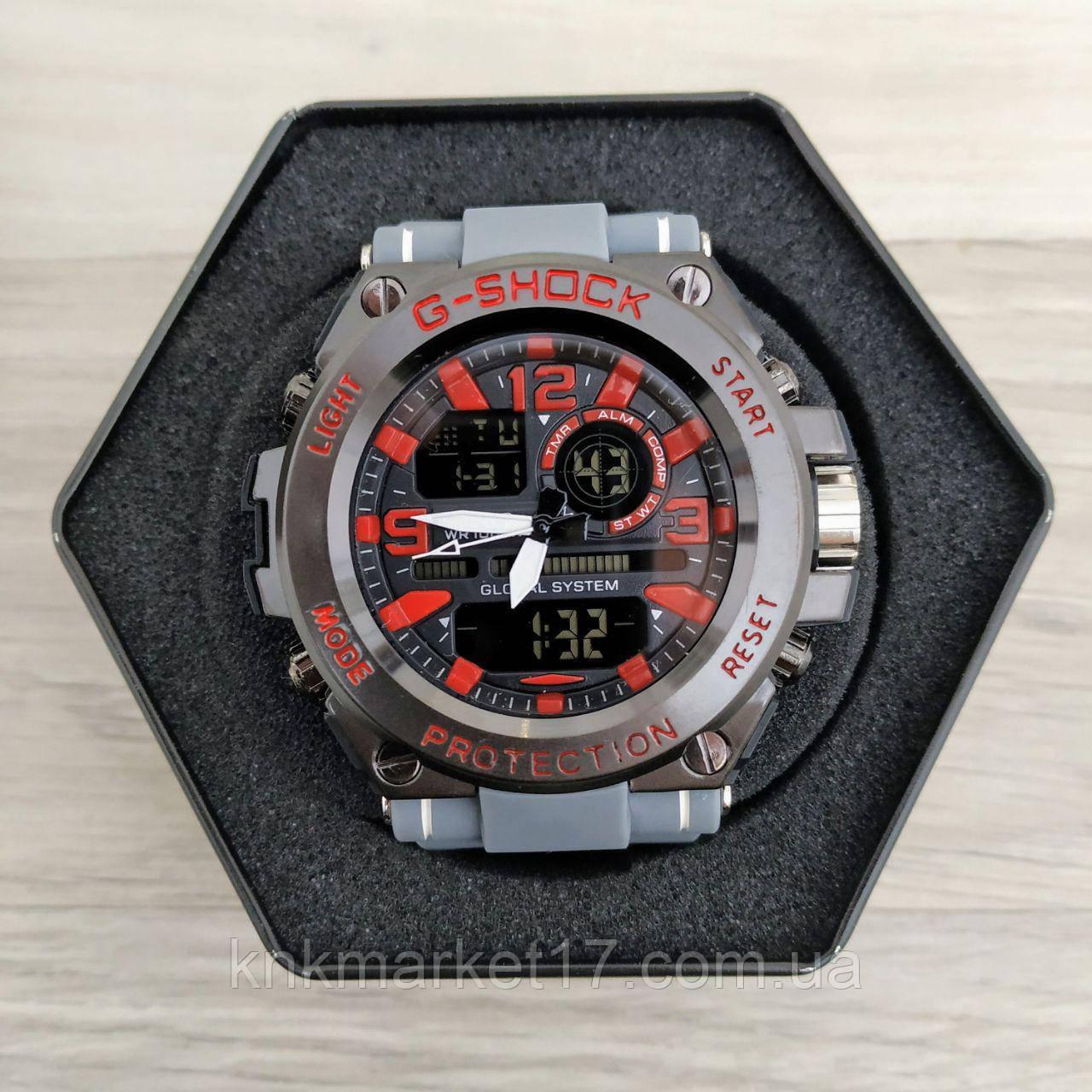 Casio GLG-1000 Gray-Black-Red