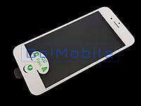 Стекло (для ремонта дисплея) iPhone 7 белое с рамкой OCA пленкой