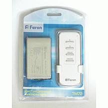 Дистанционный выключатель света Feron TM72 220В 2 канала, фото 2