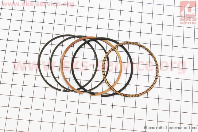 Кольца поршневые 110сс 52,4мм +1,00, фото 2