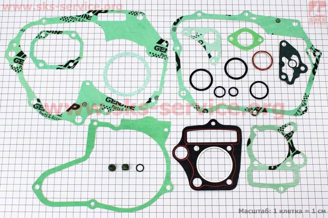 Прокладки двигателя к-кт 70cc + манжеты, фото 2