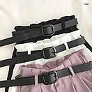 Коттоновые женские шорты на высокой посадке 77sw15, фото 5