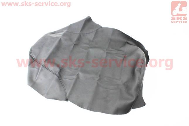 Чехол сиденья (эластичный, прочный материал) черный, фото 2
