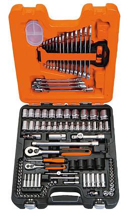 Набор инструментов 1/4 и 1/2, 108 предметов, BAHCO S108, фото 2