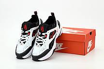 Мужские кроссовки Nike M2K Tekno White / Black - University Red, фото 3