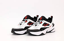Мужские кроссовки Nike M2K Tekno White / Black - University Red, фото 2