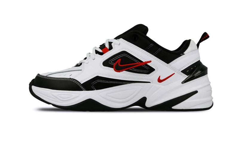 Мужские кроссовки Nike M2K Tekno White / Black - University Red