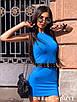 Короткое летнее платье - майка без рукава 5ty1399, фото 2