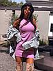 Короткое летнее платье - майка без рукава 5ty1399, фото 5