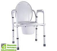 Кресло-туалет складное A8700AA, NOVA (Тайвань), фото 1