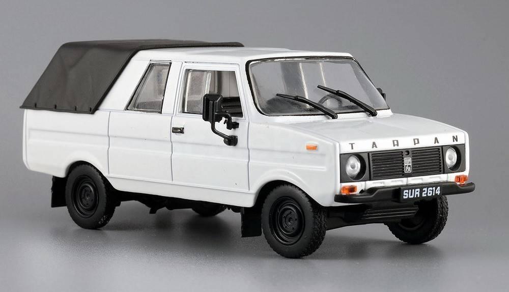 Автолегенды №157 TARPAN 237 (Польша) белый   Коллекционная модель 1:43   DeAgostini