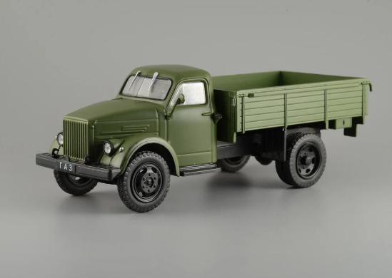 Автолегенды №147 ГАЗ-51А хаки | Коллекционная модель 1:43 | DeAgostini