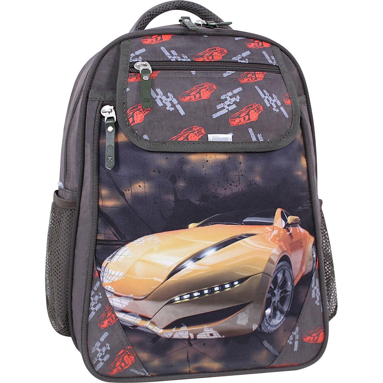 Рюкзак школьный Bagland Отличник 20 л. хаки 666 (0058070)