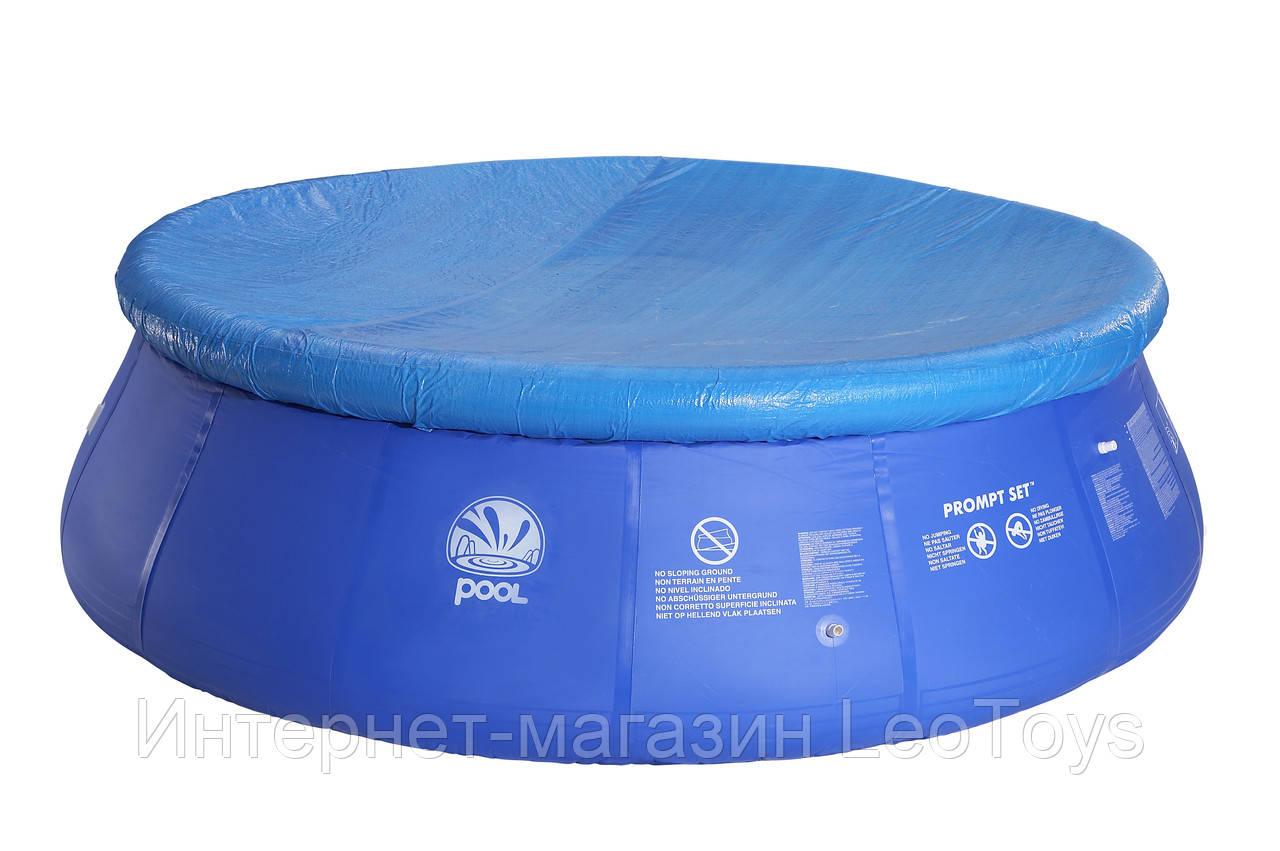 Тент - чехол для надувного бассейна Jilong JL16124-1 (330 см). Тент для надувного бассейну.