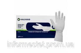 Перчатки нитриловые неопудренные 200шт.. Halyard. S