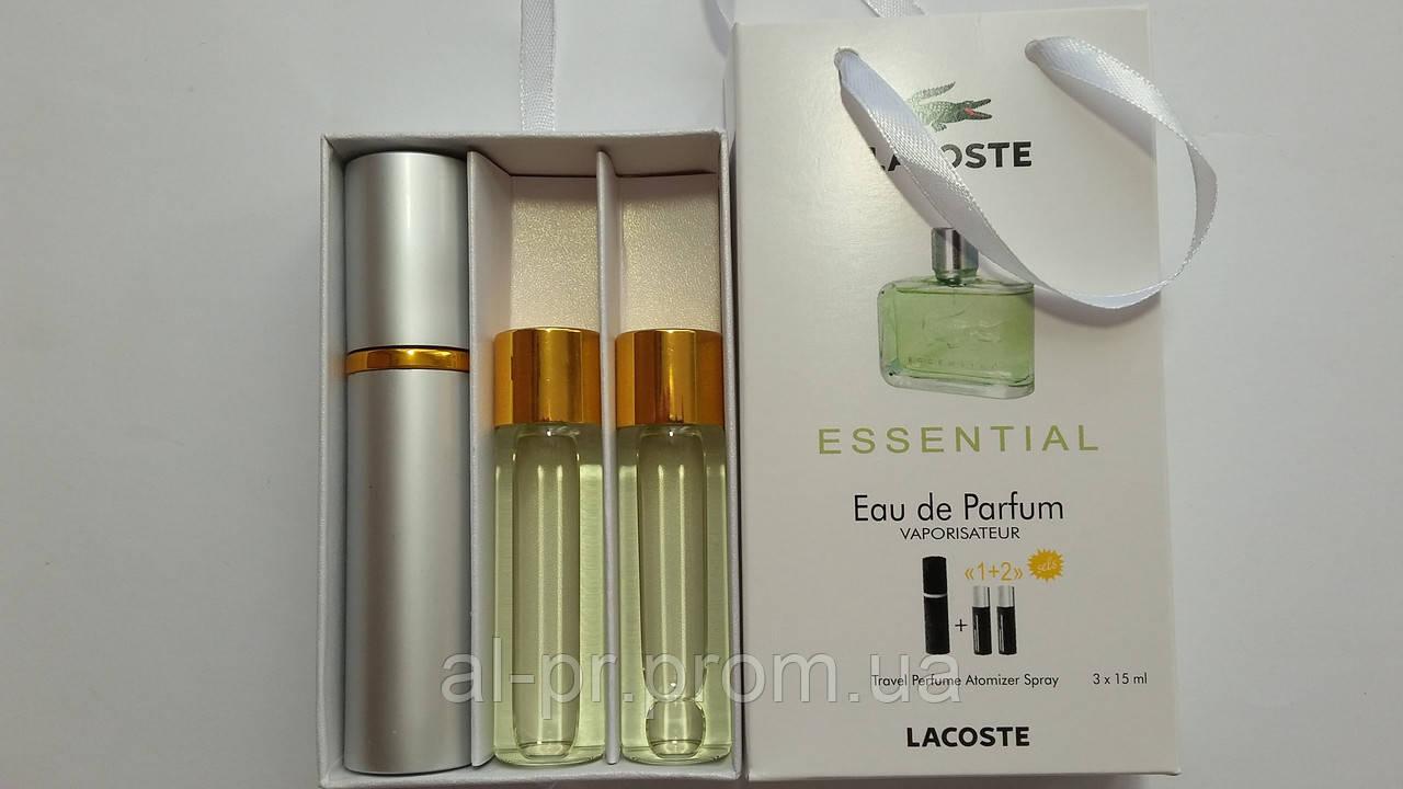Подарочный набор парфюмерии Lacoste Essential с феромонами - Альянс Товары  в Киеве f62f508cf9c74