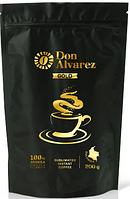 Don Alvarez Gold 200 г Колумбия кофе растворимый сублимированный