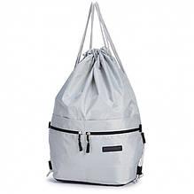 Спортивный рюкзак-мешок Dolly-832 Светло-серый