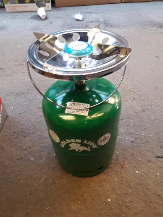 Газовый балон с горелкой  Пикник Rudyy  8 литров