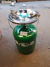 Газовий балон з пальником Пікнік Rudyy 8 літрів