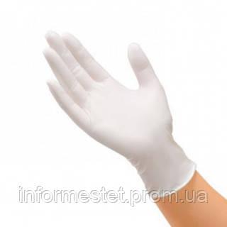Перчатки латексные опудренные размер М, Mercator Medical Santex (Сантекс) 100 шт.