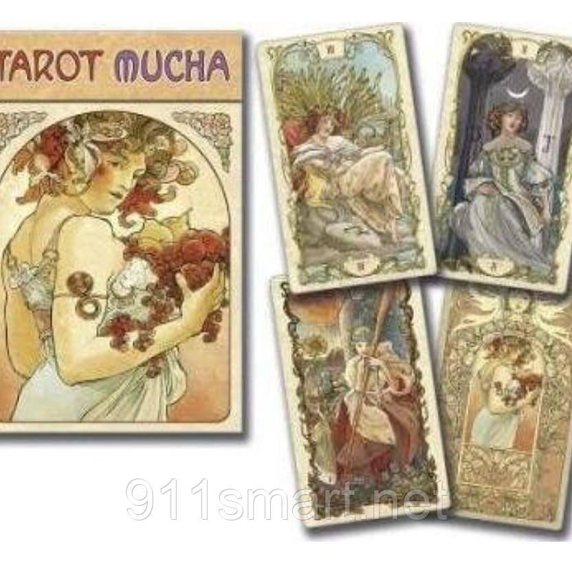 Карты Таро Альфонса Мухи (MUCHA Tarot).