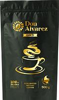 Don Alvarez Gold 500 г Колумбия эконом пакет кофе растворимый сублимированный