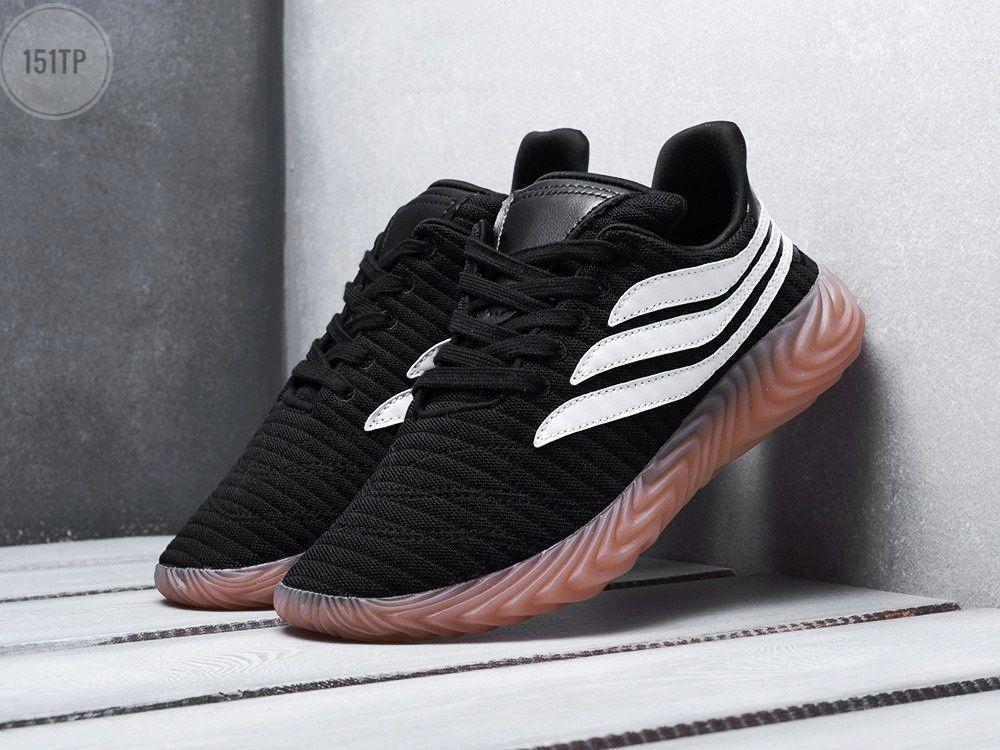 Чоловічі кросівки Adidas Sobakov Рефлективні (чорно-білі) 151TP
