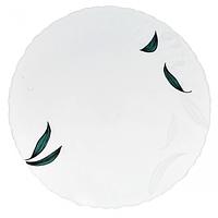 Тарелка 7,5 'Зеленый листок(6шт в упаковке)