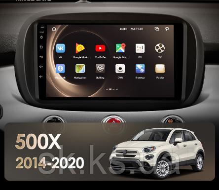 Junsun 4G Android магнитола для Fiat 500X 2014 - 2020