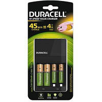 Зарядное устройство для аккумуляторов Duracell CEF14 + 2 rechar AA1300mAh + 2 rechar AAA750mAh (5004990)