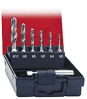 Набір комбінованих мітчиків М3-М10 HSS Format (Німеччина)