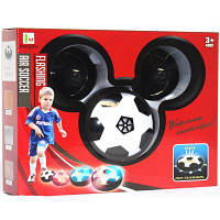 Игровой набор RongXin для домашнего футбола – аэромяч с воротами и клюшками 11 см (3235)