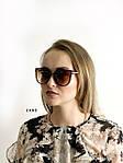 Стильные коричневые очки Dior, фото 2