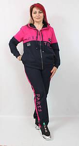 Турецкий женский костюм в спортивном стиле больших размеров 50-64