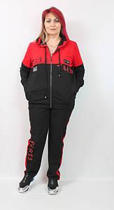 Турецкий женский костюм в спортивном стиле больших размеров 52-64
