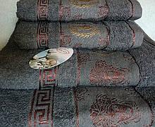 Рушник махровий банний 100% бавовна