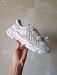 Жіночі кросівки Adidas Ozweego Рефлективні (білі) 462GL, фото 2