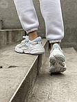 Жіночі кросівки Adidas Ozweego Рефлективні (білі) 462GL, фото 6