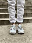 Жіночі кросівки Adidas Ozweego Рефлективні (білі) 462GL, фото 5