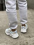 Жіночі кросівки Adidas Ozweego Рефлективні (білі) 462GL, фото 4