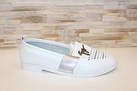 Слипоны женские белые Т1093, фото 1