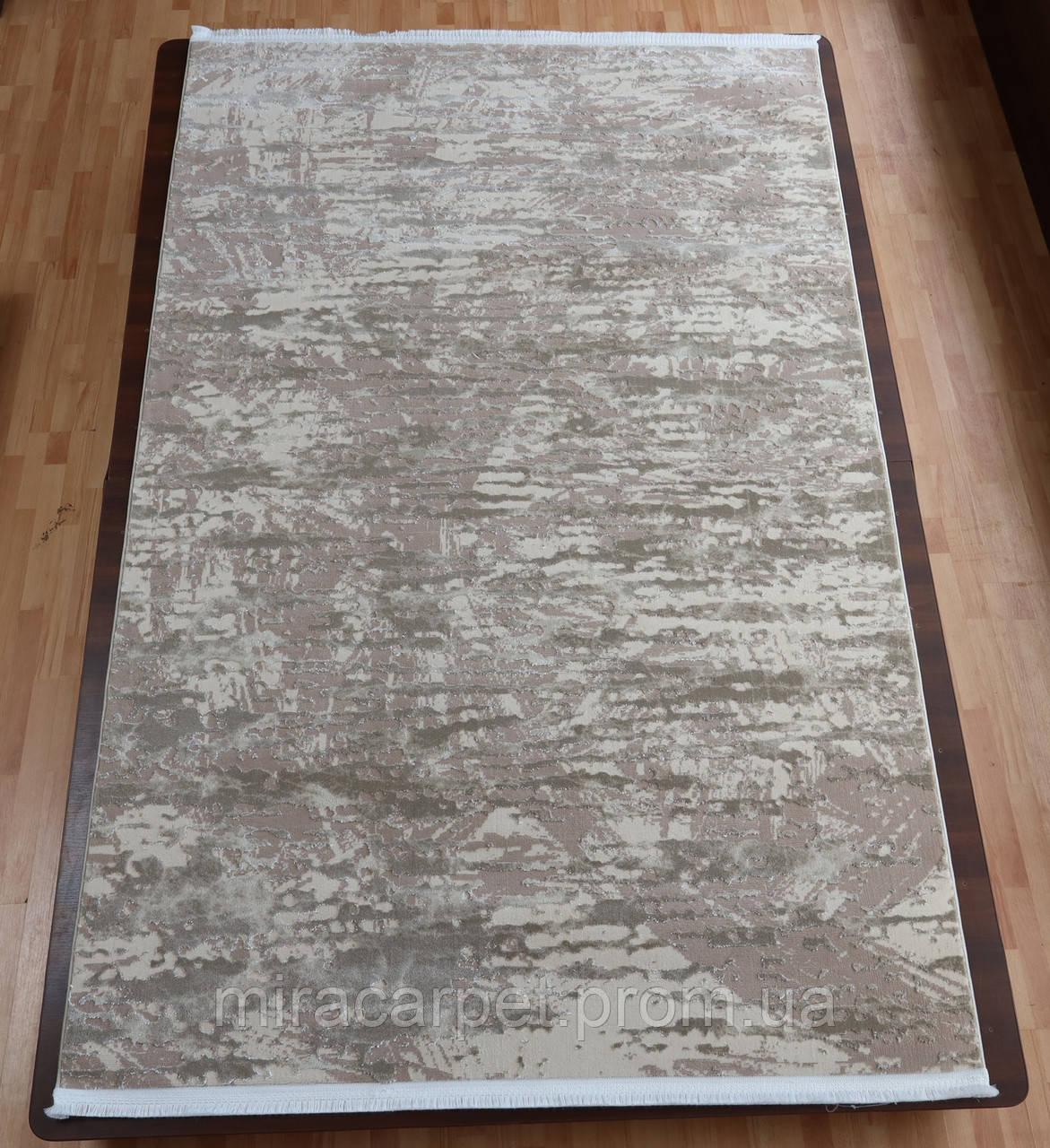 Прямоугольный ковер с бахрамой