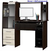 Компьюторный стол с надставкой Эверест Мебель «Лира»