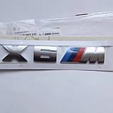 Шильдик напис X6M на кришку багажника, фото 2